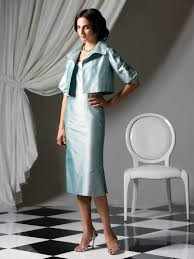 turquoise square neckline and short sleeves zipper tea length a