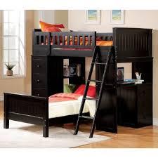 Wooden Bunk Bed With Desk Bunkbeds With Desk Bunk Beds Loft Desks Wayfair Onsingularity