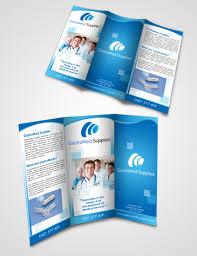 free tri fold brochure mockup psd free photoshop template