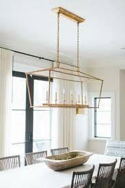 Rectangular Dining Room Lighting Home A Southern Rectangular Pendant Light Wooden