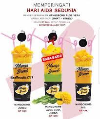 Mango Bomb mangobomb aloe vera varian baru mangobomb raffi ahmad dan nagita
