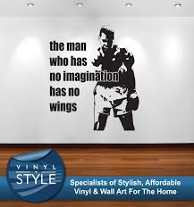 wall decals stickers home decor home furniture diy muhammad ali imagination graphic decor quote sticker wall art various colour