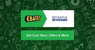 Online Coupon Bed Bath And Beyond Bed Bath And Beyond Coupons Promo Codes U0026 4 0 Cash Back Ebates