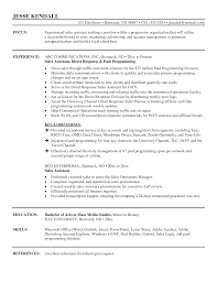 Free Assistant Manager Resume Template Sales Assistant Sample Resume