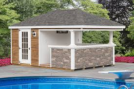 pool house pool house sheds prefabricated pool houses horizon structures