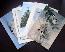 wildlife note cards etsy