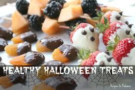 healthy halloween treats youtube