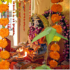 how to decorate a temple at home ganesh chaturthi home decorating ideas
