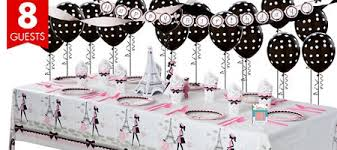 theme decorations pink party supplies theme party party city