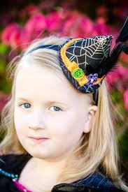 diy witch hat headband tutorial for halloween costume