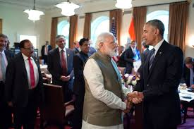 Cabinet Of Narendra Modi File President Barack Obama And Prime Minister Narendra Modi Talk