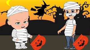halloween party clipart the boss baby new episode cartoon boss baby and tim became mummy