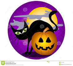 halloween clipart black background black cat halloween background stock images image 3131394