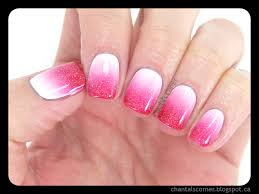 White Pink Nail I M A Guest On Northern Pink White Nails Chantal S