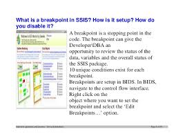top ssis interview questions and answers job interview tips