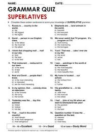 english grammar crossword comparative adjectives http www