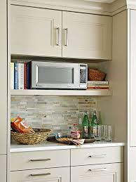 Built In Wall Toaster Best 25 Microwave Shelf Ideas On Pinterest Open Kitchen