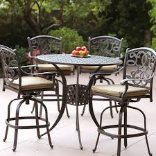 Bar Height Patio Dining Set by Patio Bar Sets Pictures Pixelmari Com