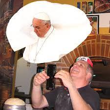 Pope Meme - pizza pope imgur