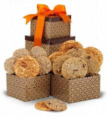 cookie gift boxes classic cookie gift tower baked goods arttowngifts