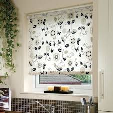 Roller Blinds Online Digital Print Rollers Buy Beatrice Charcoal Roller Blinds