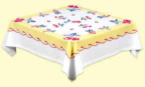 oilcloth tablecloths and cotton too u2022 cottage home decor