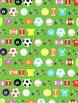 sports wrapping paper children s wrapping paper gift wrap