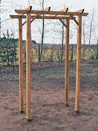 Pre Made Pergola by How To Build A Freestanding Wooden Pergola Kit How Tos Diy