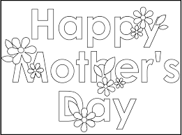printable coloring birthday cards for mom birthday coloring pages