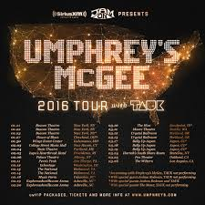 winter 2016 tour is here umphrey s mcgee