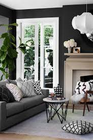 Grey Sofa Living Room Gray Couch With Dark Walls Living Room Inspiration For The Home
