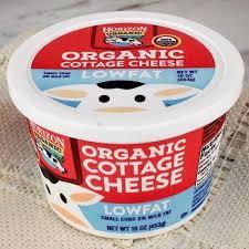 horizon organic cottage cheese lowfat u2013 milk and eggs