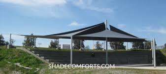 amphitheater shade sails