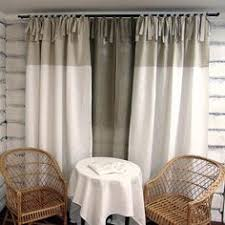 Curtains With Ties Tab Top Stonewashed Linen Curtain Custom Sewing Linen Curtain