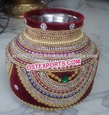 indian wedding decoration accessories indian wedding decorated made pots matkas buy indian