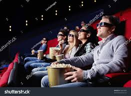 young people watch movies cinema stock photo 76901809 shutterstock
