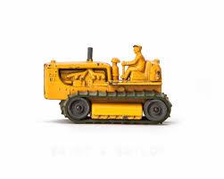vintage toy bulldozer 5 color choices saint u0026 sailor studios