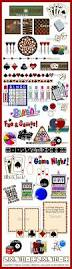game room clip art collection