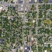 springfield map satellite map of springfield il satellite images of