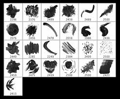 15 free photoshop drawing u0026 painting brush sets graphicsfuel