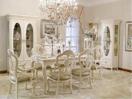 White French Provincial Dining Room Set - French dining room sets