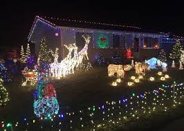 loveland christmas display full of color music interactive image
