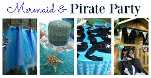Mermaid Decorations For Party Mermaid And Pirate Party