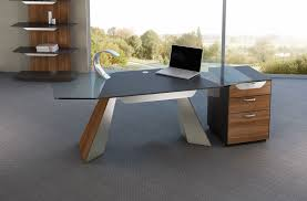 Decorate Office Shelves by Admirable Modern Office Room With Light Brown Desk Combined Chic