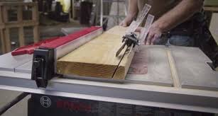 bosch safety table saw bosch reaxx table saw gts1041a preview video