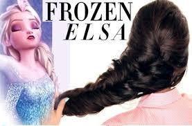 tutorial kepang rambut frozen kepang elsa frozen archives cantik indonesia