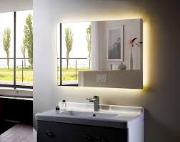 bathroom perfect lighted mirrors for bathrooms modern with