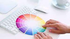 Graphic Designer Desk Graphic Designer Working On Digitizer At Her Desk In Creative