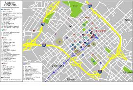 Bank Of America Stadium Map by File Charlotte Uptown Map Svg Wikimedia Commons