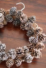 pine cone wreath do it yourself divas diy pinecone wreath practically free